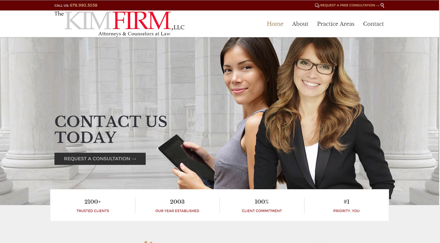 Kimfirm.com | Website