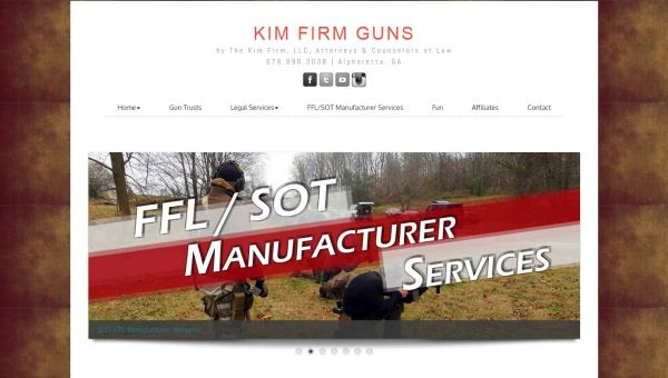 KimFirmGuns.com | Website/Blog