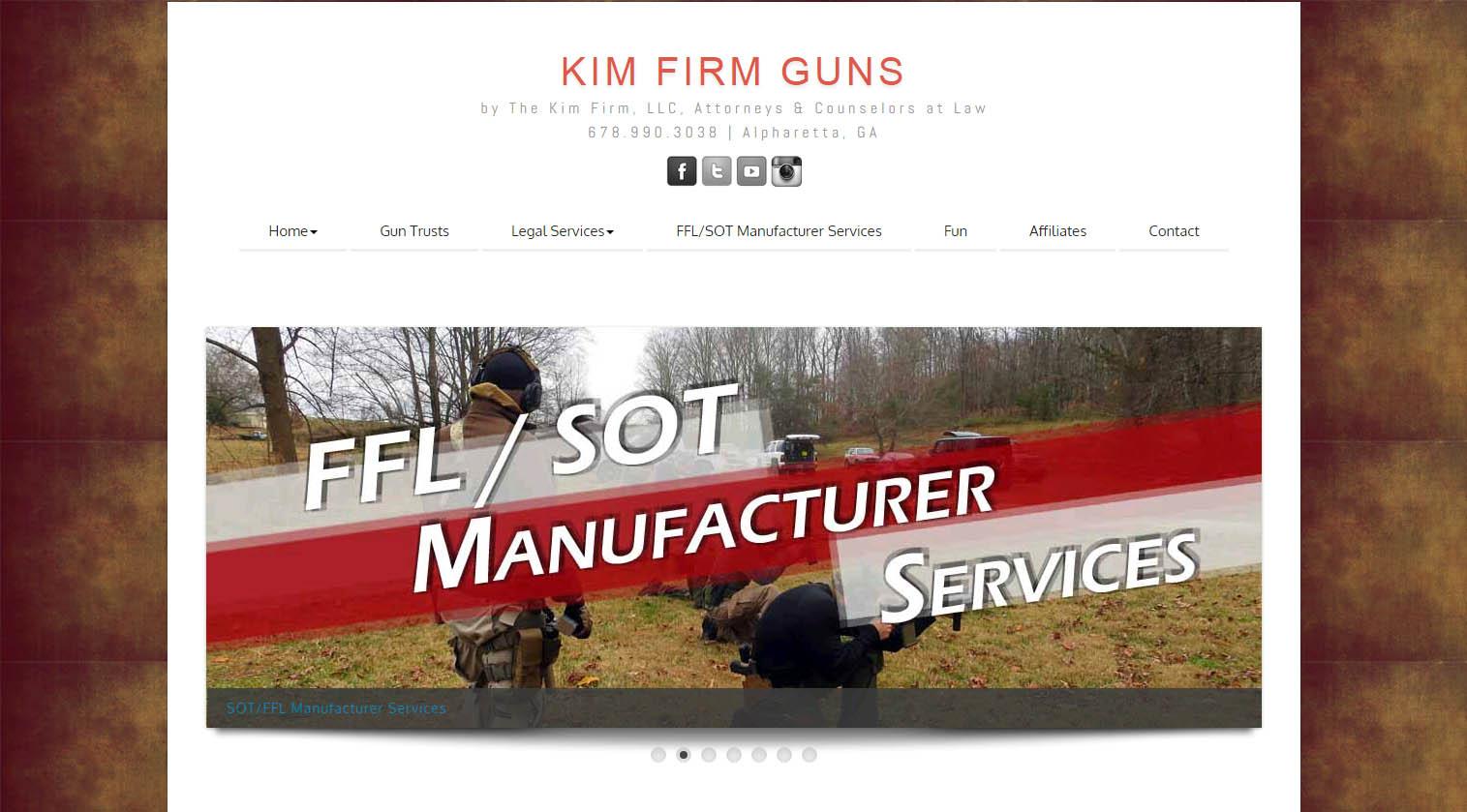 KimFirmGuns.com | Website/Blog