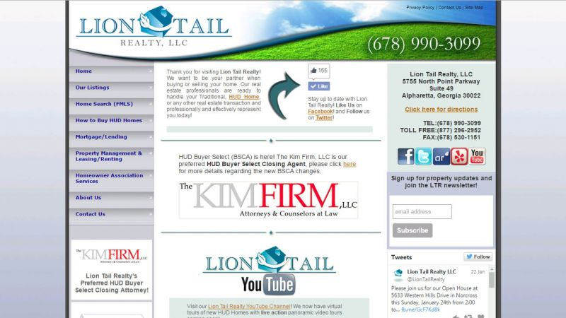 LionTailRealty.com | Website